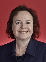 Official portrait of Carol Brown