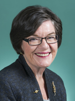 Official portrait of Cathy McGowan