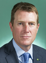 Official portrait of Christian Porter
