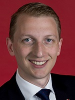 Official portrait of James Paterson