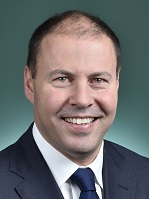 Official portrait of Josh Frydenberg