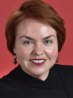 Official portrait of Kimberley Kitching