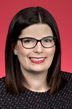Official portrait of Marielle Smith