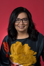 Official portrait of Mehreen Faruqi