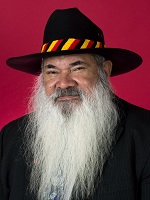 Official portrait of Patrick Dodson