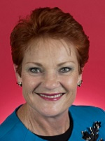 Official portrait of Pauline Hanson
