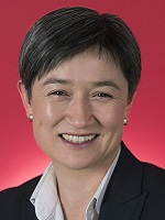 Official portrait of Penny Wong