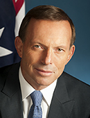 Official portrait of Tony Abbott